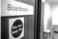 Boardroom door